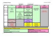 Stundenplan Fachbereich Kunst (PDF)