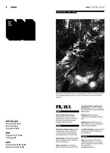Fr, 15.7. - Woxx