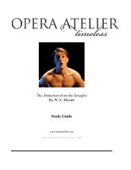 Abduction from the Seraglio - Opera Atelier