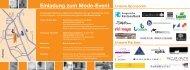 Einladung zum Mode-Event - Kantonale Schule für Berufsbildung