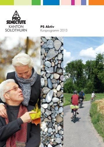 Anmeldung - Pro Senectute Solothurn