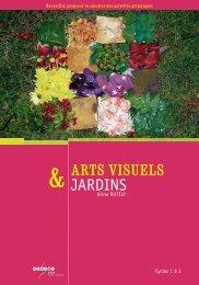 JARDINS ARTS VISUELS - CNDP
