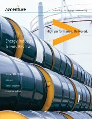 Energy Industry Trends Review