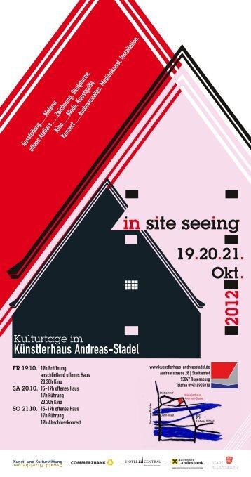 Kulturtage im - Künstlerhaus Andreas-Stadel