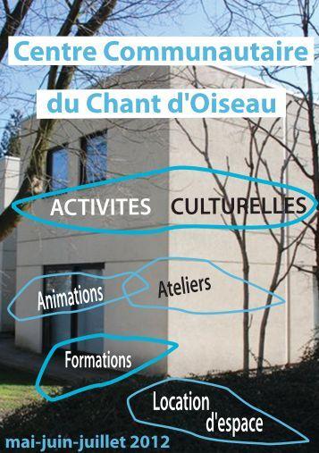 Centre Communautaire du Chant d'Oiseau CCCO asbl