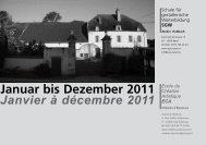 Januar bis Dezember 2011 - Schule für gestalterische Weiterbildung