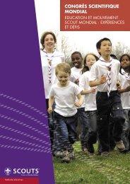 Congrès Scientifique Mondial - World Organization of the Scout ...