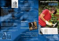 KURSE Atelier CLAUDIA ENDRES - Claudia Endres - Bildhauerin