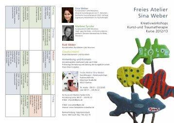 Kreativprogramm als pdf - Freies Atelier · Sina Weber