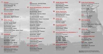 Filzware Atelier Wildholz Atelier 2neun2 HofATELIER ... - eintritt frei!