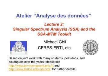 """Atelier """"Analyse des données"""" - ceres-erti - Ens"""