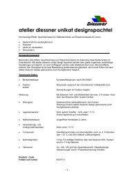 atelier diessner unikat designspachtel