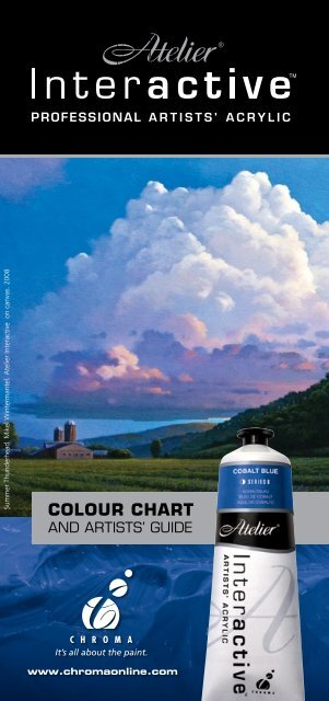 Atelier Interactive Colour Chart 234 Mb Chroma