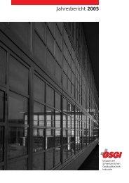Hier können Sie den Jahresbericht 2005 downloaden (PDF - GSGI