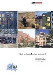 **LayoutBrosch.re Berlin - Netzwerk Berliner Baugruppen Architekten