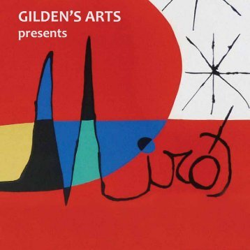 Catalogue Miro Exhibition 2012 - Gildens Arts