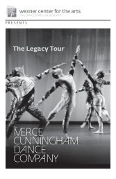 Merce Cunningham: The Legacy Tour - Wexner Center for the Arts