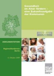 Gesundheitsförderung im Alter - Gesundheit Berlin eV