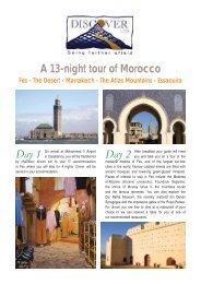A 13-night tour of Morocco - Kasbah du Toubkal