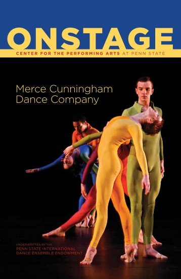Merce Cunningham Dance Company - Center for the Performing Arts
