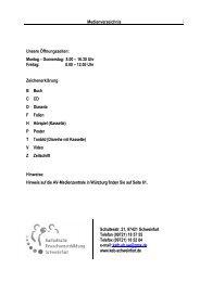 Medienverzeichnis Katholische Erwachsenenbildung Schweinfurt ...