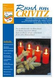 """Seelennahrung MV"" Dezember 2012 - Amt Crivitz"