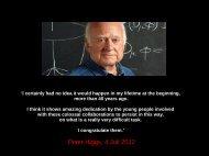 Was könnte ATLAS entdecken? - Institut für Kern- und Teilchenphysik