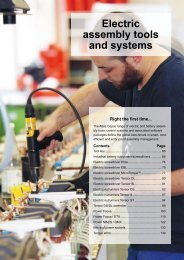 Electric assembly tools and systems