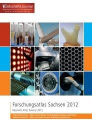 Forschungsatlas Sachsen 2012 - Wirtschaftsjournal