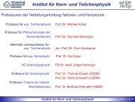 Die Vortragsfolien der Veranstaltung im Wintersemester 2012/13
