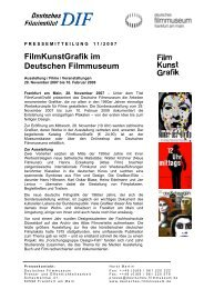 FilmKunstGrafik - Deutsches Filmmuseum