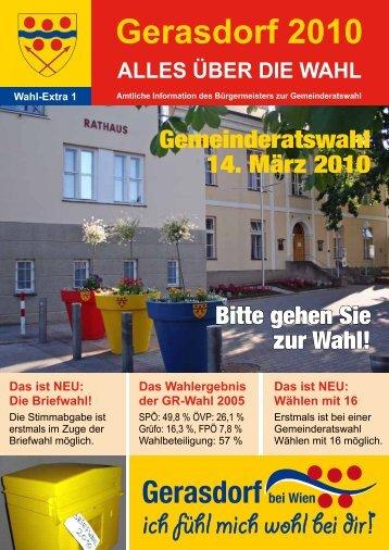 Wahl-Extra 1 - Gerasdorf