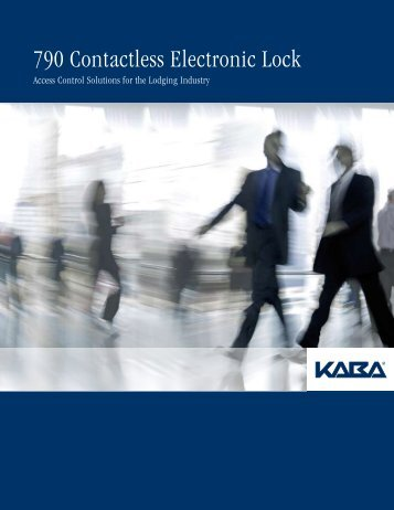 790 Contactless Electronic Lock - Access Hardware Inc