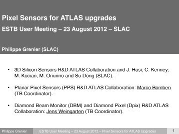 Pixel Sensors for ATLAS upgrades