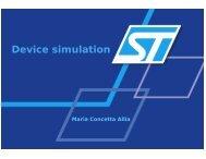 Device simulation - Silvaco International