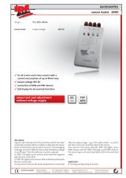 accessories sensor tester 2000 - IPF Electronic GmbH