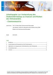 Arbeitspapier Dialog Chemieindustrie - Institut für ökologische ...