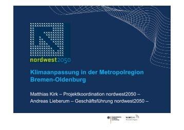 Klimaanpassung in der Metropolregion Bremen-Oldenburg