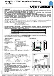 Kompakt - Mietzsch GmbH Lufttechnik Dresden