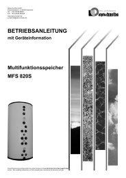 Hydraulische Einbindung - Miertzschke, Dipl. ING. - Energietechnik ...