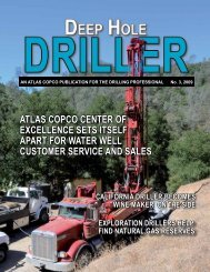 atlas CopCo Center of exCellenCe sets itself apart for water well ...