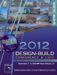 Download On-Site Program - Design-Build Institute of America