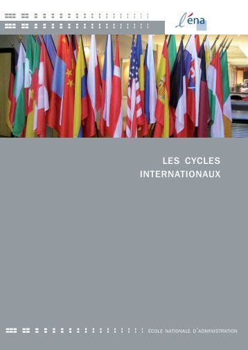 Brochure Cycles Internationaux 2013 - Ena