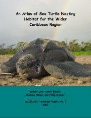 An Atlas of Sea Turtle Nesting Habitat for - Réseau des tortues ...