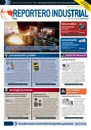 RI ABR-MAY.indd - Reportero Industrial