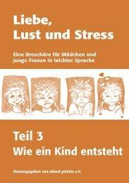 Liebe, Lust und Stress Teil 3 - bei mixed pickles eV  Lübeck