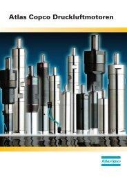 Vorstellung der Atlas Copco -Druckluftmotoren und