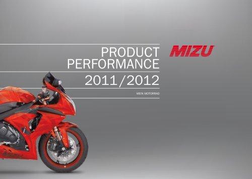 PRODUCT PERFORMANCE 2011 /2012 - Mizu Vertriebs GmbH