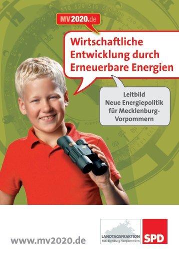 Wirtschaftliche Entwicklung durch Erneuerbare Energien - Institut für ...