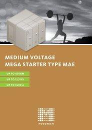MEDIUM VOLTAGE MEGA STARTER TYPE MAE - Mocotech GmbH